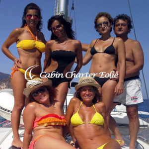 Vancanze per single in Barca a vela - Cabin Charter Eolie
