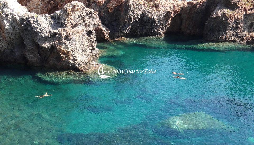 Panarea - Cala Junco - Cabin Charter Eolie