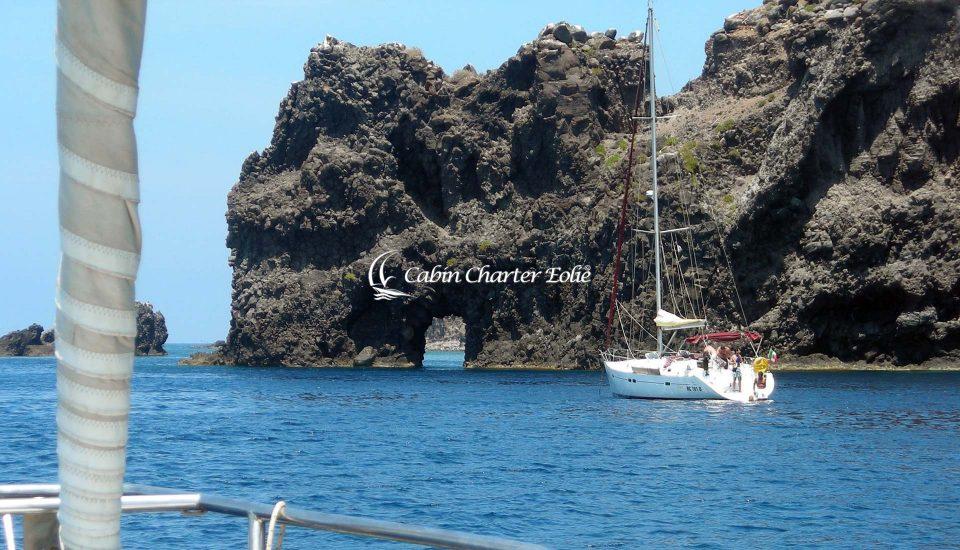 Filicudi - Catamarano - Luxory - Vacanza - Cabin Charter Eolie