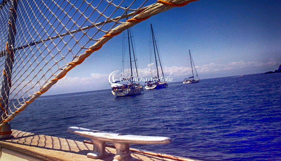 Flottiglia - Isole - Barca a Vela e Catamarano - Cabin Charter Eolie