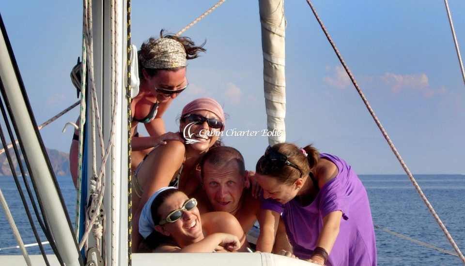 Imbarco Individuale - Barca a Vela - Single - Vacanza Barca a Vela - Cabin Charter Eolie