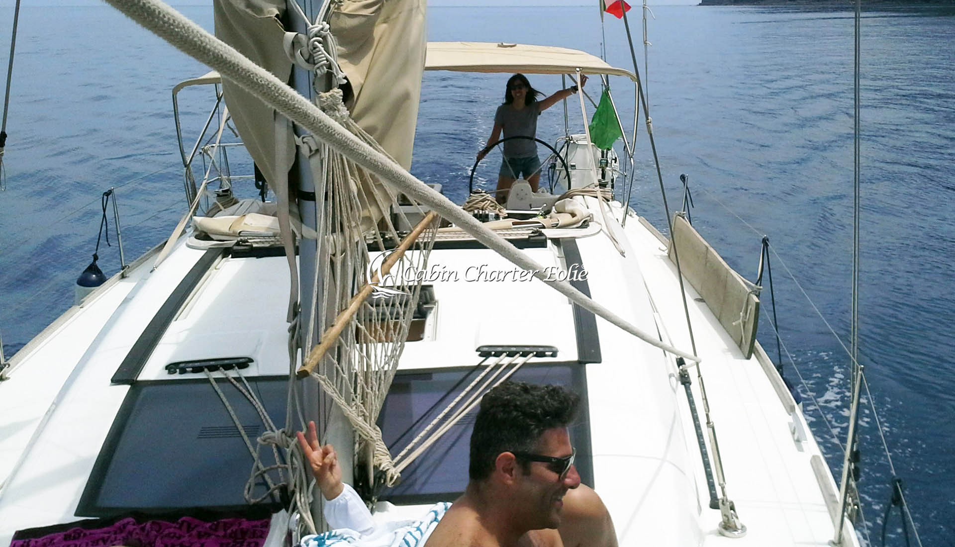 Imbarco a Cabina - Isole Eolie - Vacanza in Barca a Vela - Cabin Charter Eolie - Sicilia - Italy