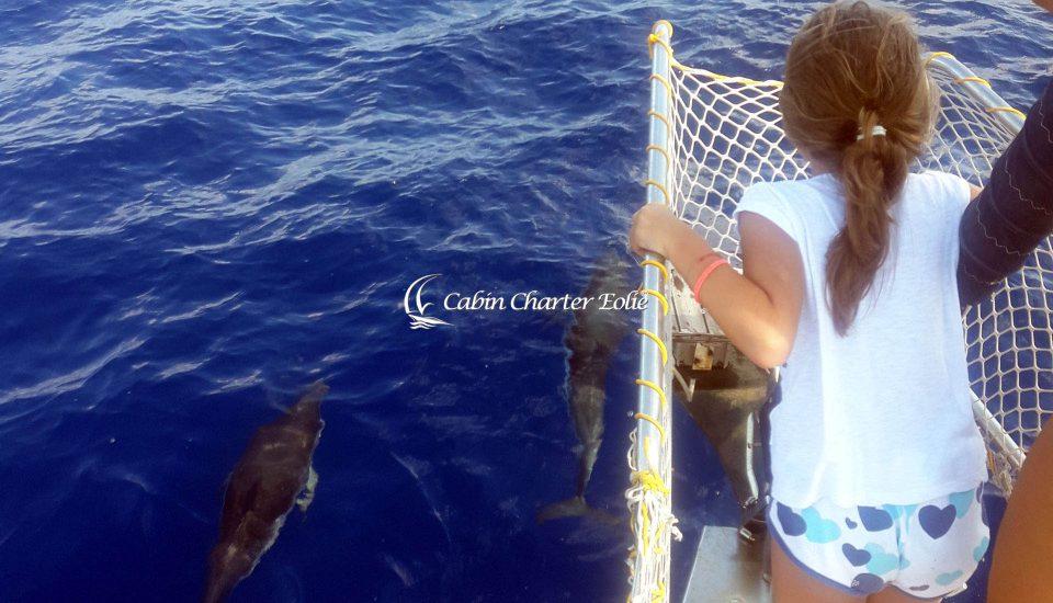 Kids - Flottiglia - Vacanza in Barca a Vela - Bambino- Cabin Charter Eolie