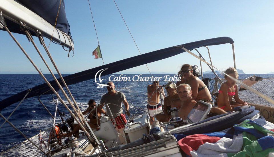 Stromboli - Amici - Single - Barca a Vela - Cabin Charter Eolie - Individuale