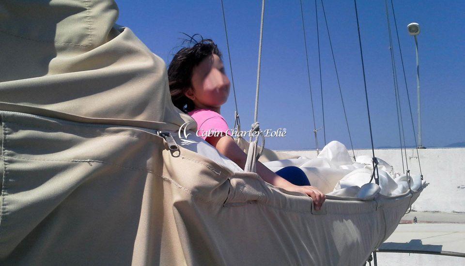 kids - Barca a Vela - Vacanza – Famiglia - Bambino - Cabin Charter Eolie