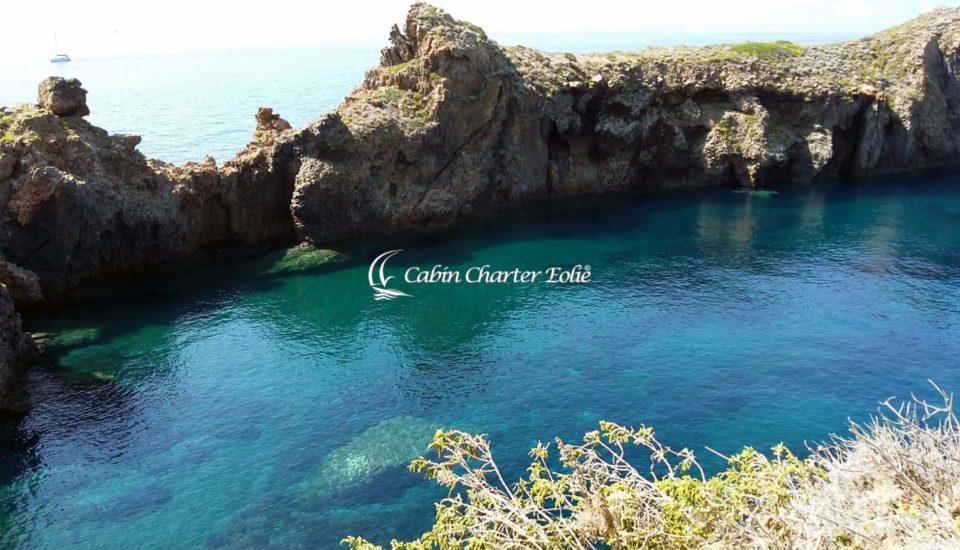 Cabin Charter Eolie - Panarea - Vista dal Villaggio Preistorico bis - Vacanza in Barca a Vela - Isole Eolie - Sicilia - Italy