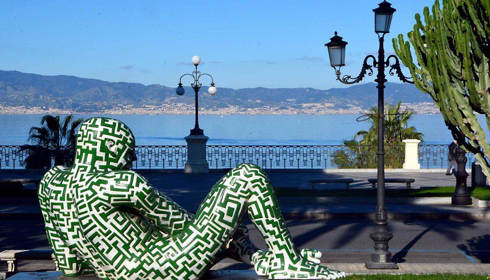 Cabin Charter Eolie - Reggio Calabria - Statua che Riposa - Vacanza in Barca a Vela - Viaggio in Barca a Vela - Calabria - Sicilia