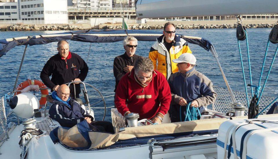 Corso Istruttori UISP -SeaLandWay - CabinCharterEolie - Barca a Vela